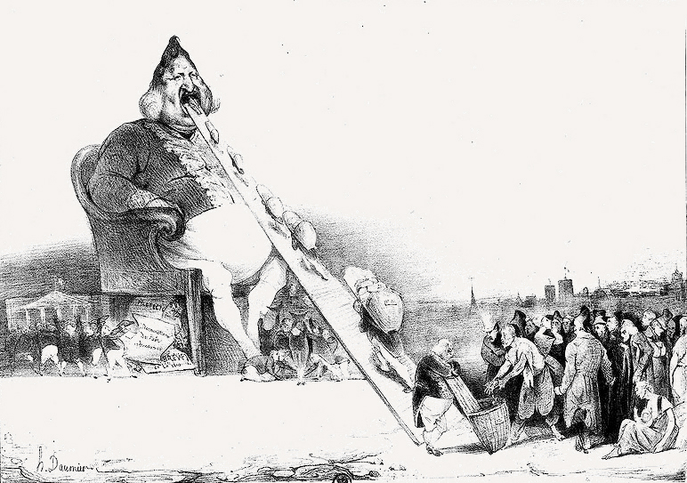 Daumier_Gargantua_1831